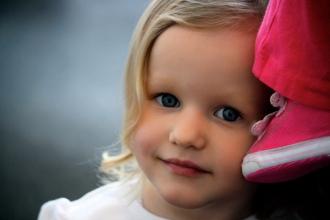 Claire, age 3