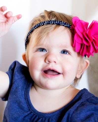 Alivia, age 1