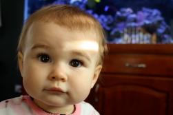 Ella, almost 1.