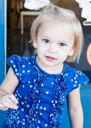Paige, age 2.5